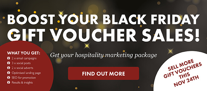 Boost your black friday gift voucher sales!
